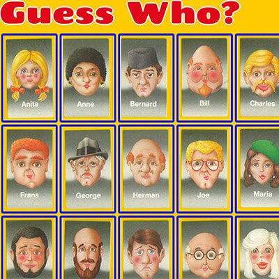 guess who - Webby D LLC - portfolio