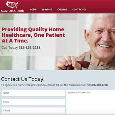 medical services - Webby D LLC - portfolio